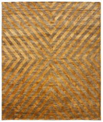 Due Process Ja Bridget Orange Area Rug