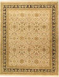 Due Process Jagapatti Sultanabad Ivory-Black Area Rug