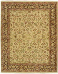 Due Process Jagapatti Mahal Cream - Mocha Area Rug