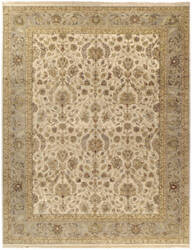 Due Process Jagapatti Nain Ivory - Light Green Area Rug