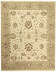 Due Process Jagapatti Oushak Cream - Fawn Area Rug