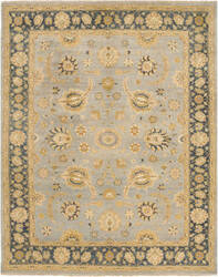 Due Process Jinan Agra Light Blue - Navy Area Rug