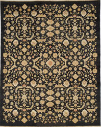 Due Process Jinan Ferrahan Black Area Rug