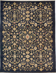 Due Process Jinan Ferrahan Navy Area Rug