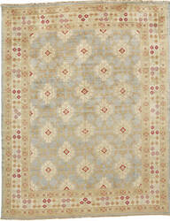 Due Process Jinan Samarkand Light Blue - Ivory Area Rug