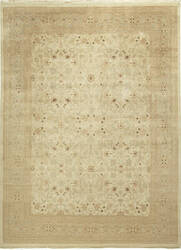 Due Process Kandahar Tabriz Gold - Dark Gold Area Rug