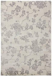 Due Process Katari Floral Bamboo Ivory Area Rug