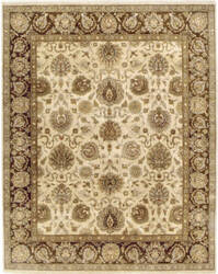 Due Process Kendra Sultanabad Cream - Brown Area Rug
