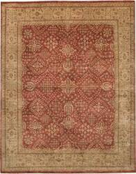 Due Process Khyber Joshegan Brick-Cream Area Rug