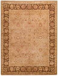 Due Process Khyber Ziegler Taupe-Chestnut Area Rug