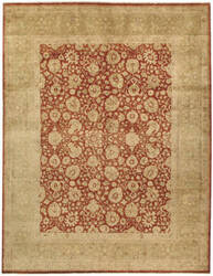 Due Process Khyber Isphahan Rust - Gold Area Rug