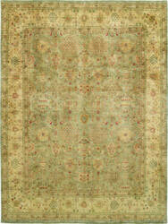 Due Process Khyber Zili Sultan Steel - Cream Area Rug