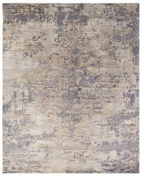 Due Process Kochi Lex Pewter Area Rug