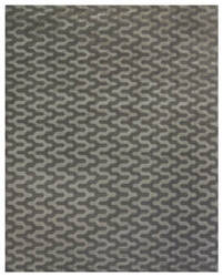 Due Process Lhasa Jagged Pewter Area Rug
