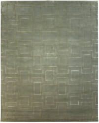 Due Process Lhasa Rhombus Sprout Area Rug