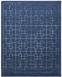 Due Process Lhasa Tolmer Navy Area Rug