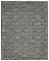 Due Process Lhasa Zeno Pewter Area Rug