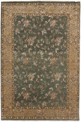 Due Process Madras Devon Blue - Beige Area Rug