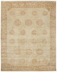 Due Process Mardan Peking Soft Coral Area Rug