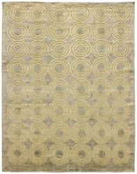 Due Process Milano Full Circle Grey Area Rug