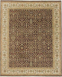 Due Process Mirzapur Bakhtiari Brown - Cream Area Rug