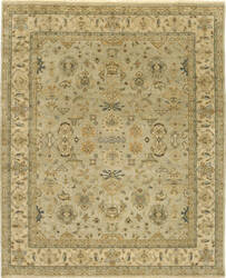 Due Process Mirzapur Mahal Opal - Cream Area Rug