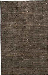 Due Process Nouveau Shimmer Chocolate Area Rug