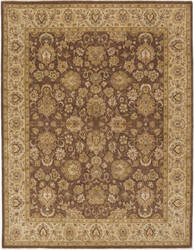 Due Process Rambagh Nain Brown - Beige Area Rug