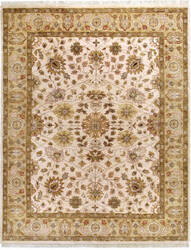Due Process Thana Tabriz Ivory - Gold Area Rug