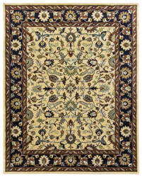 Due Process Tufted Tehran Beige - Black Area Rug