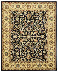 Due Process Tufted Tehran Black - Beige Area Rug