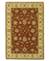 Eastern Rugs Agra 16313 Brown Area Rug