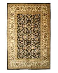 Eastern Rugs Sarouk 2671 Black Area Rug