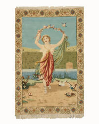 Eastern Rugs Pictorial Tabriz 4039 Multi Area Rug