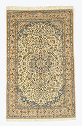 Eastern Rugs One-Of-A-Kind 4042 Ivory Area Rug