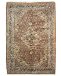 Eastern Rugs Tabriz 8995 Brown Area Rug