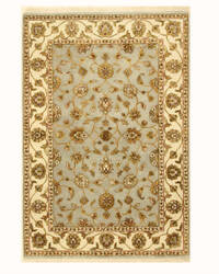 Eastern Rugs Jaipur-Silk Flower 8998 Grey Area Rug