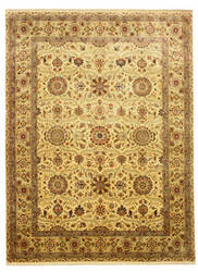 Eastern Rugs One-Of-A-Kind 9004 Ivory Area Rug