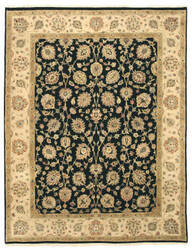Eastern Rugs One-Of-A-Kind 9037 Black Area Rug