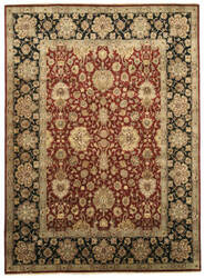 Eastern Rugs One-Of-A-Kind 9181 Red Area Rug