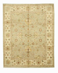 Eastern Rugs Peshawar 9448 Grey Area Rug