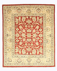 Eastern Rugs Peshawar 9458 Red Area Rug