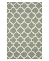 Eastern Rugs Flatweave Reversible Moroccan Dm73gy Grey Area Rug