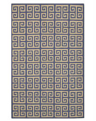 Eastern Rugs Flatweave Revesible Athena Dm78bl Blue Area Rug