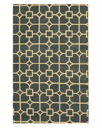 Eastern Rugs Flatweave Reversible Dalton Dm83bl Blue Area Rug