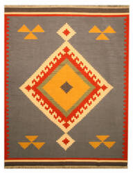 Eastern Rugs Tribal Dn6mu Blue Area Rug