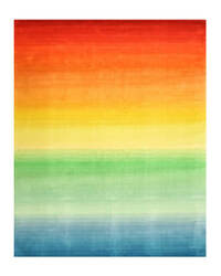 Eastern Rugs Rainbow Hl4mu Multi Area Rug