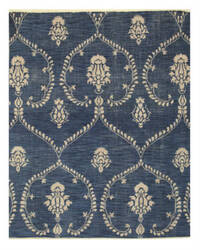 Eastern Rugs Royal Ie70bl Blue Area Rug