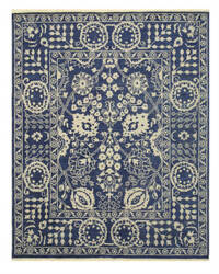 Eastern Rugs Suzani Ie71bl Blue Area Rug