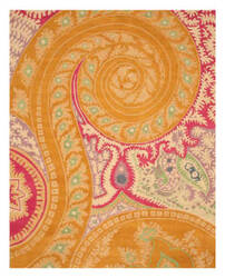 Eastern Rugs Odyssey Ie8780b Orange Area Rug